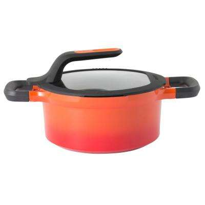 GEM 3 Qt. Cast Aluminum Non-Stick Covered Casserole