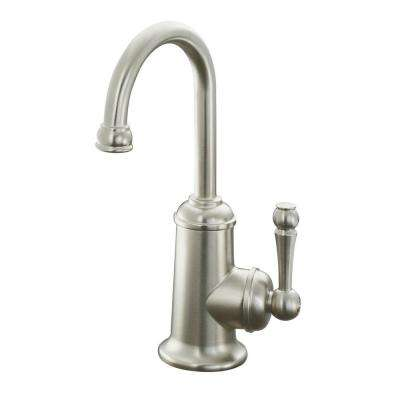 Wellspring Single Handle Bar Faucet in Vibrant Brushed Nickel