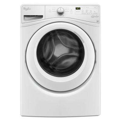 4.5 cu. ft. Stackable White Front Load Washing Machine with Adapative Wash Technology, ENERGY STAR