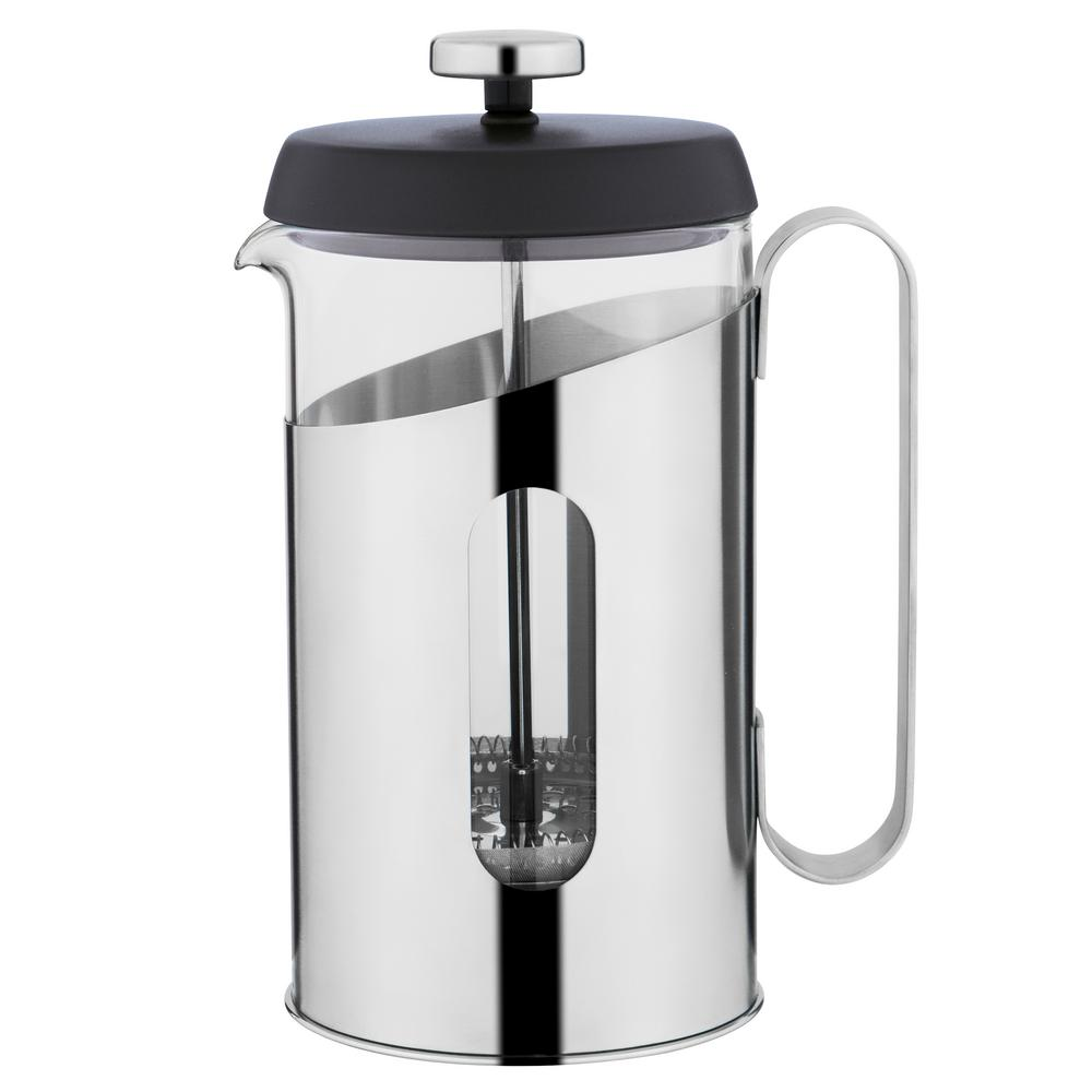 Essentials 3.4 Cup .85 Qt. Stainless Steel Coffee and Tea French