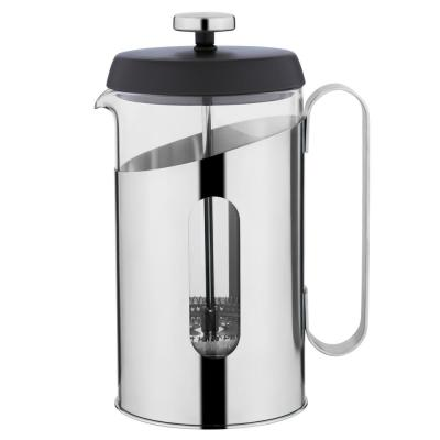 Essentials 3.4 Cup .85 Qt. Stainless Steel Coffee and Tea French Press