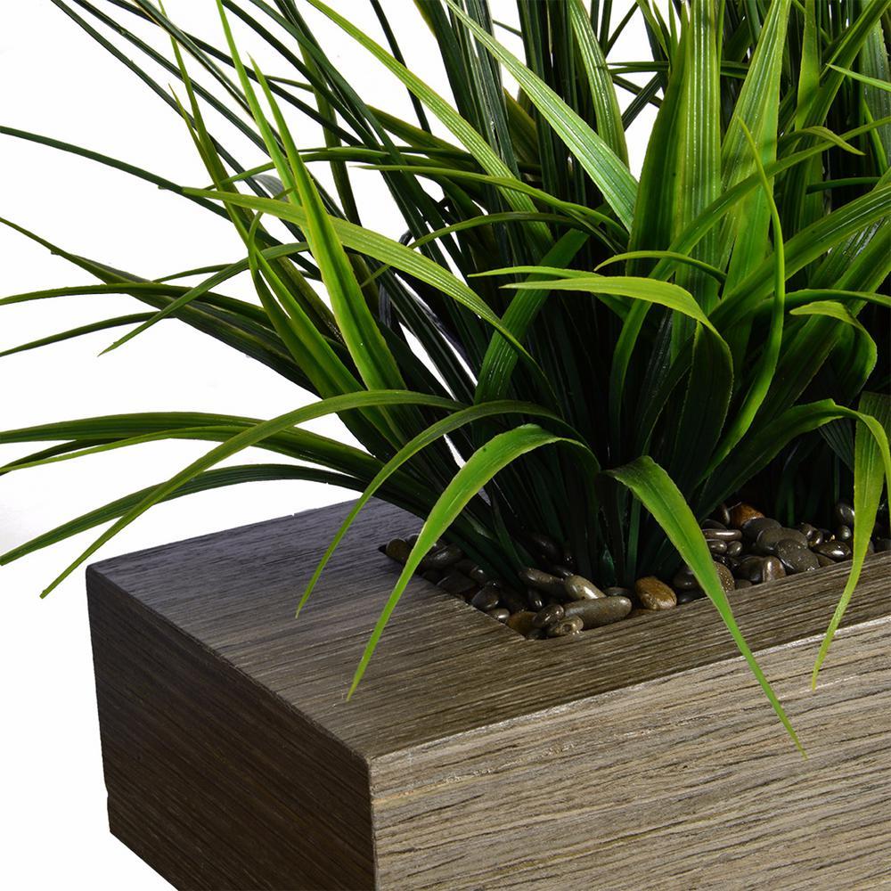 13 In Tall Green Grass Artificial Indoor Outdoor Decorative