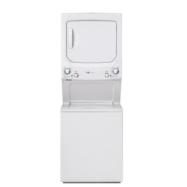 White Laundry Center with 3.9 cu. ft. Washer and 5.9 cu. ft. 120 Volt Vented Gas Dryer, ENERGY STAR