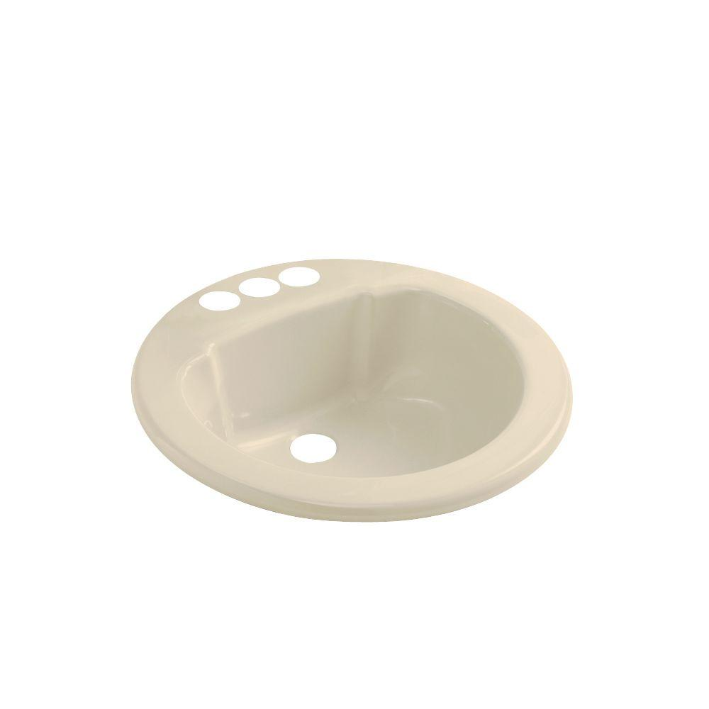 STERLING Drop-in Vikrell Bathroom Sink in Almond-DISCONTINUED