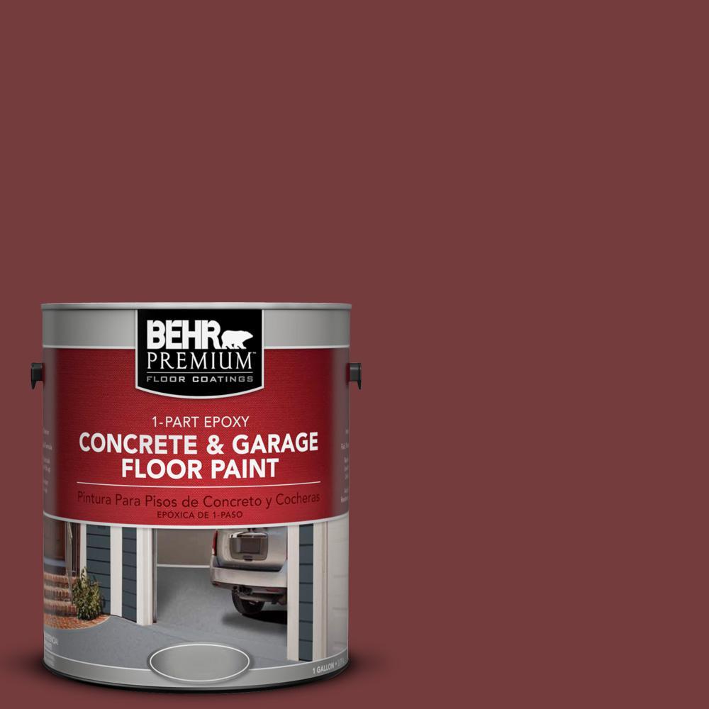 1 gal. #PPF-01 Tile Red 1-Part Epoxy Concrete and Garage Floor Paint