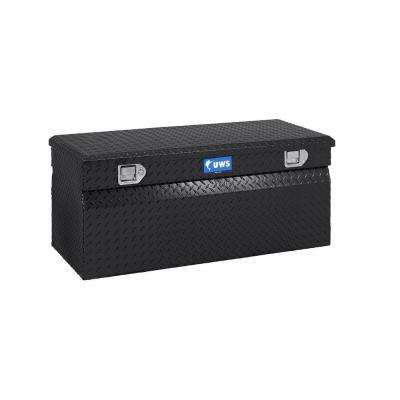 30 in. Aluminum Chest Box, Black