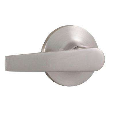 Premiere Essentials Satin Nickel Half-Dummy Bristol Door Lever