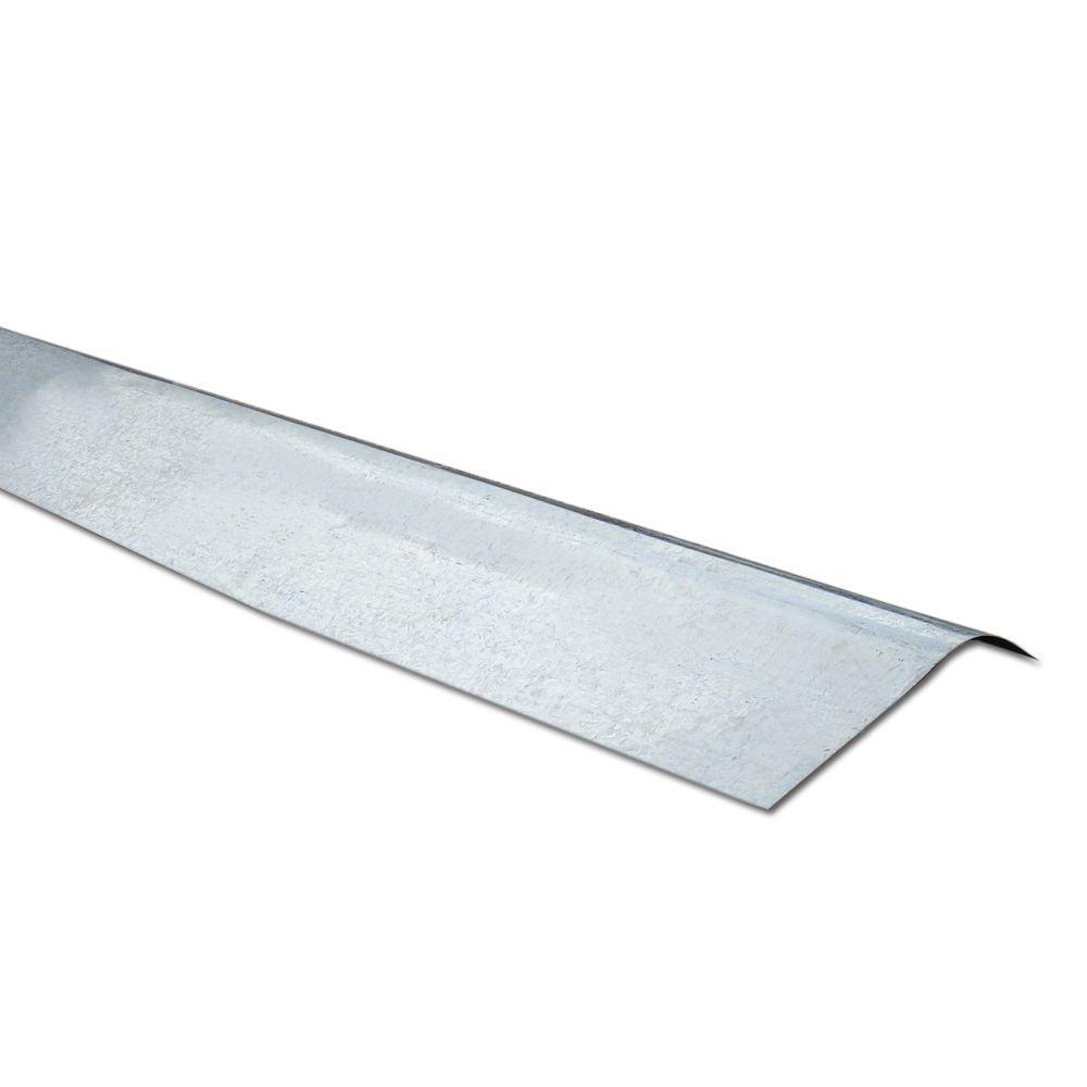 Suntuf 4 ft. Clear Polycarbonate Ridge Cap Flashing-108653 ...