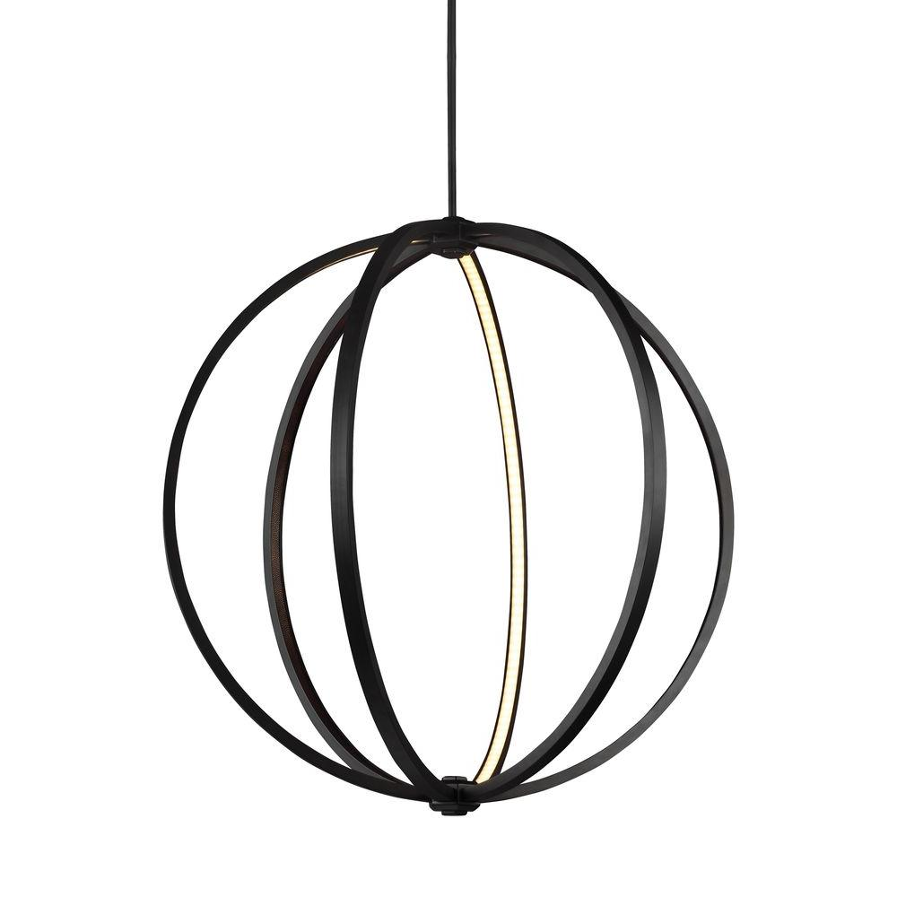 Khloe Collection Oil Rubbed Bronze LED Pendant
