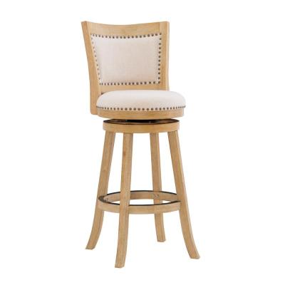 Tucker 30 in. Gray Bar Stool