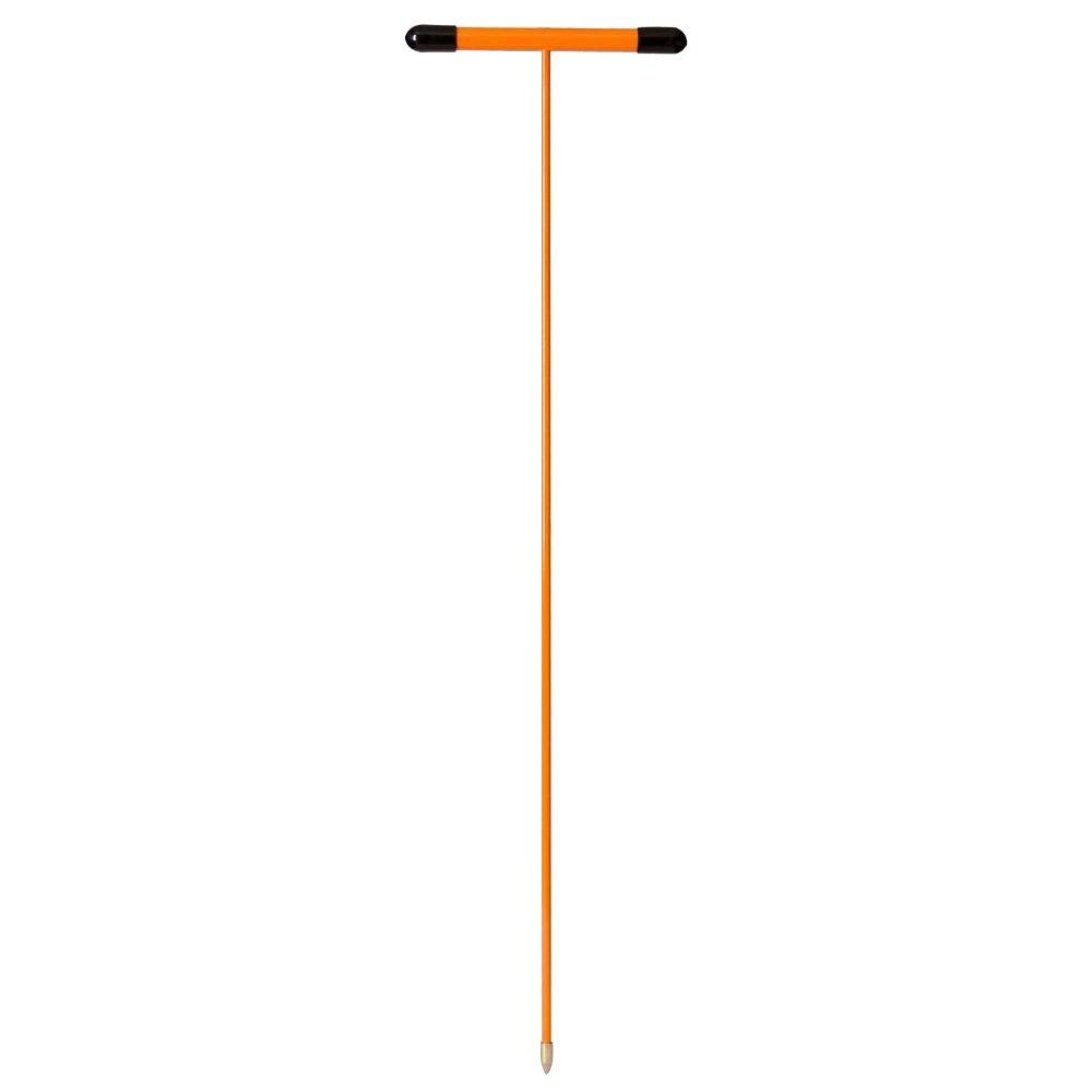5 ft. Certified Non-Conductive Fiberglass Soil Probe with Metal Tip