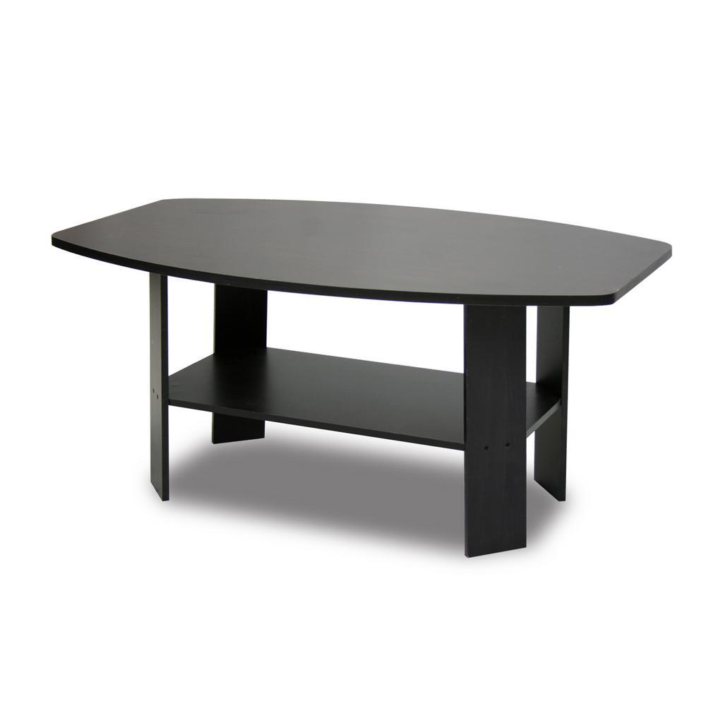 Simple Design Espresso Coffee Table