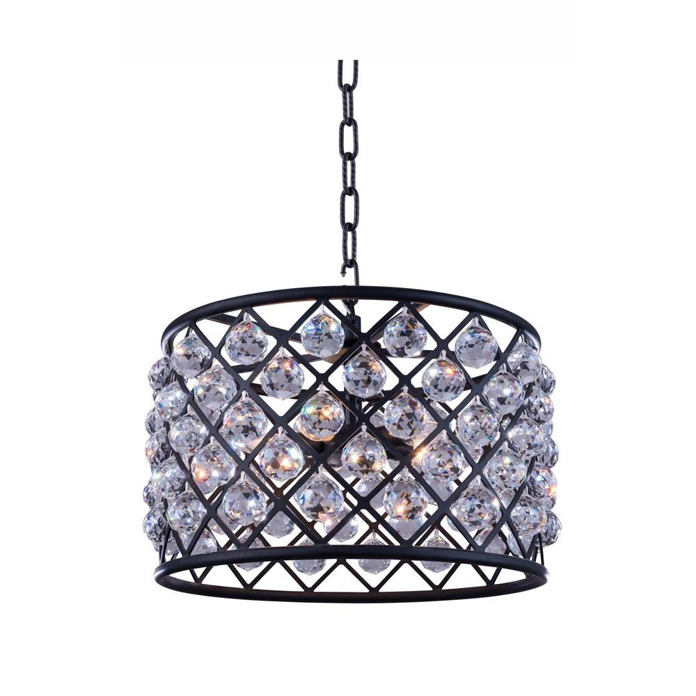 Beldi st louis 5 lights antique brown frame chandelier with clear madison 6 light mocha brown chandelier with clear crystal arubaitofo Gallery