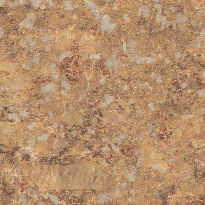 3 in. x 5 in. Laminate Sheet in Jeweled Coral with Premium Quarry Finish