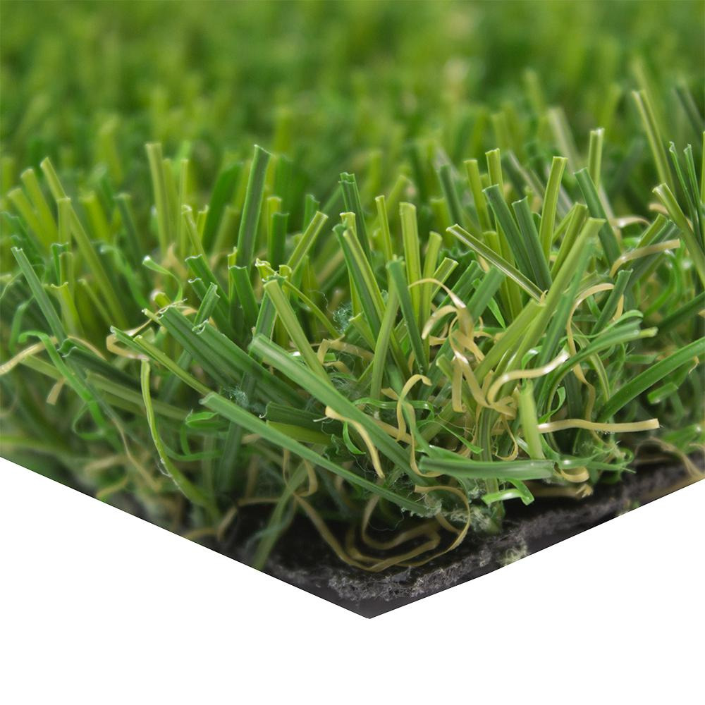 Trafficmaster Deluxe 15 Ft Wide X Cut To Length Artificial Grass Rgdln The Home Depot
