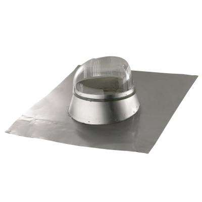 14 in. Tubular Skylight with Seamless Formable Aluminum Flashing