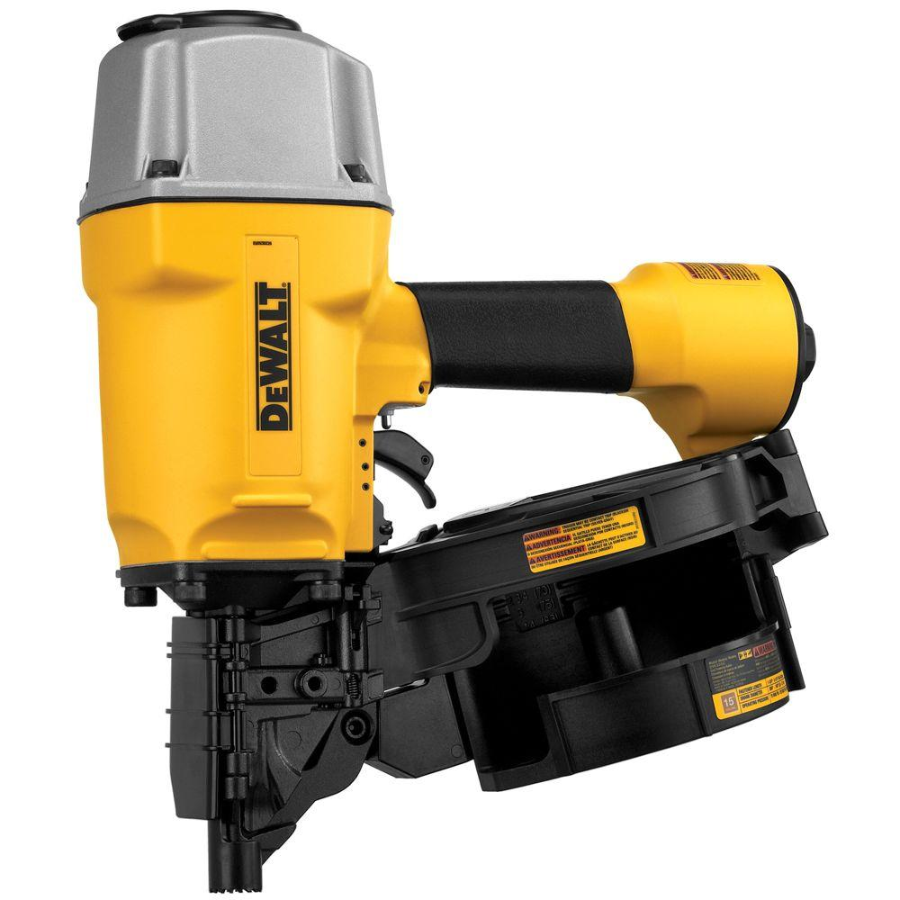 DEWALT Pneumatic 15 Degree Coil Framing Nailer-DW325C - The Home Depot