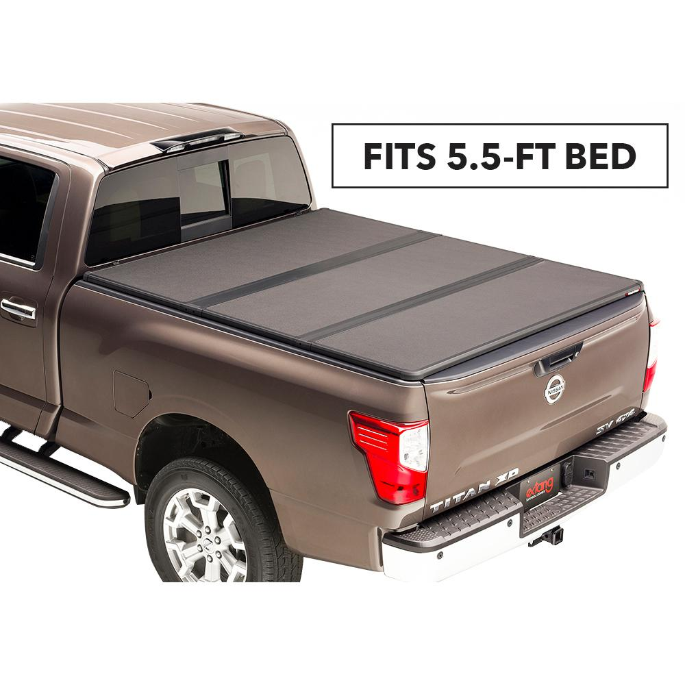Extang Solid Fold 2 0 Tonneau Cover For 14 19 Toyota Tundra 5 Ft 6 In Bed Without Deck Rail System 83460 The Home Depot