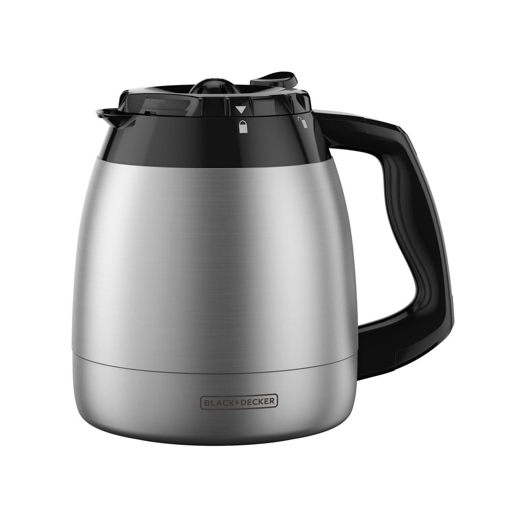 black decker 12 cup thermal coffee carafe replacement tc1200b the home depot. Black Bedroom Furniture Sets. Home Design Ideas
