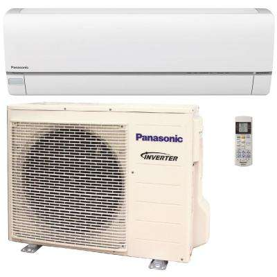 9,000 BTU 3/4 Ton Exterios XE High SEER Ductless Mini Split Air Conditioner with Heat Pump - 208-230V/60Hz