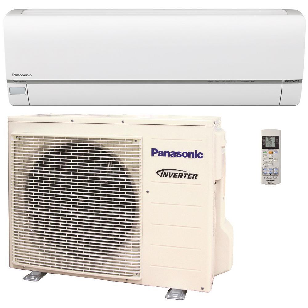 9,000 BTU 3/4 Ton Exterios XE High SEER Ductless Mini Split Air Conditioner with Heat Pump - 208-230V/60Hz