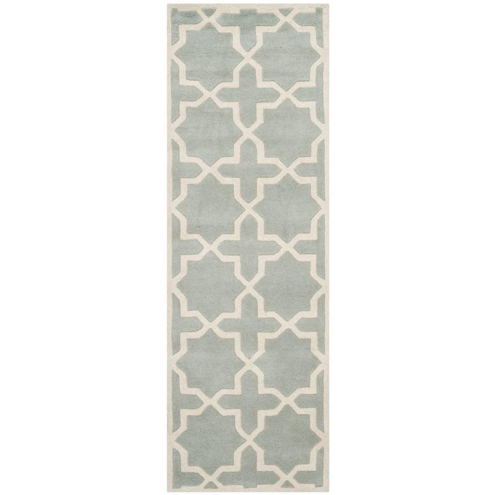 Chatham Grey/Ivory 2 ft. 3 in. x 11 ft. Runner
