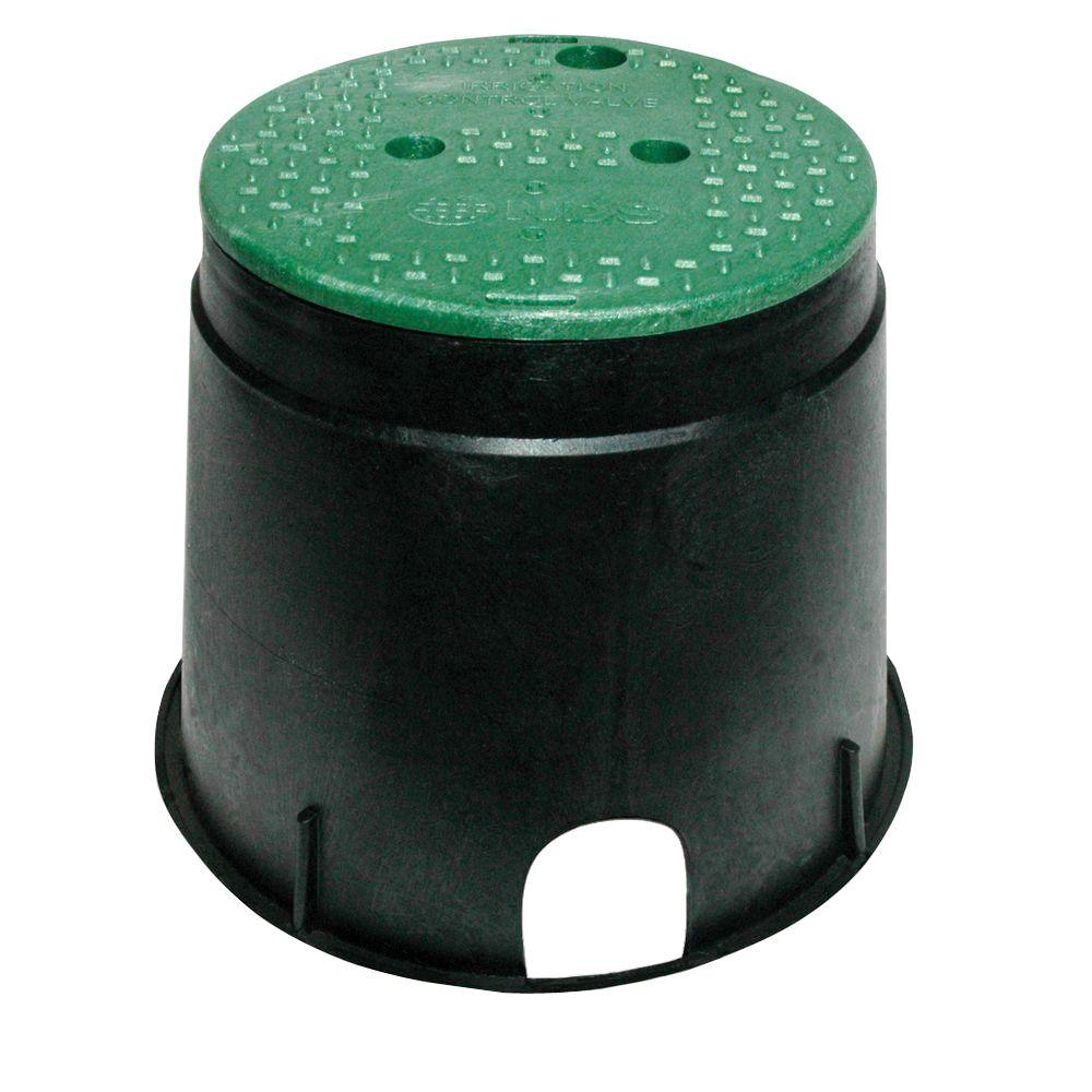 NDS 10 in. Circular Valve Box-111BC - The Home Depot bd12c43bff0e