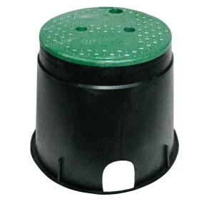 10 In Circular Valve Box 111bc The Home Depot