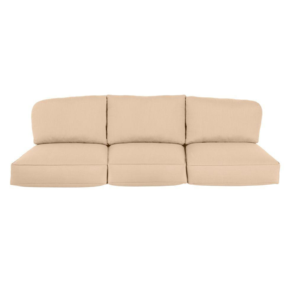 Northshore Replacement Outdoor Sofa Cushion in Harvest