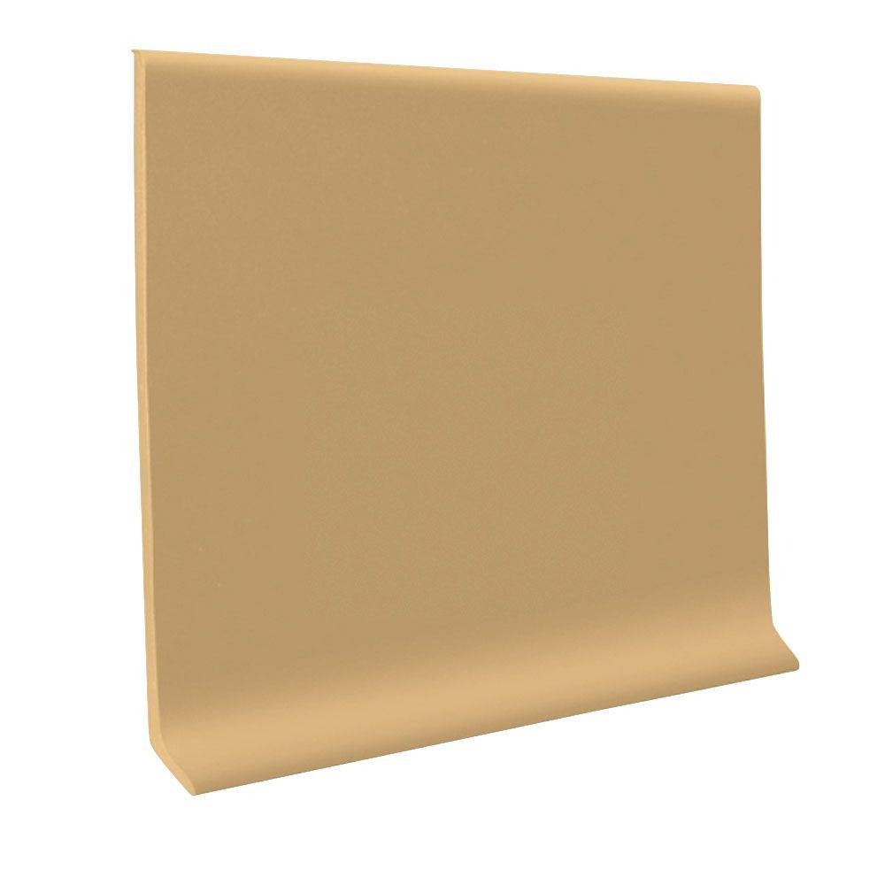ROPPE 700 Series Flax 4 in. x 1/8 in. x 48 in. Thermoplastic Rubber Cove Base (30-Pieces)