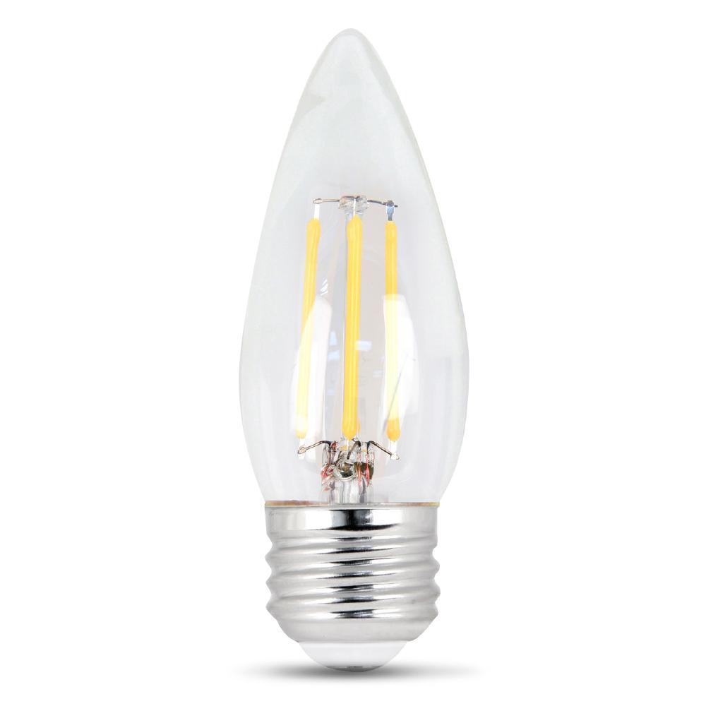 60 Watt Equivalent Halogen A19 Long Life Light Bulb 4 Pack 457374 The Home Depot