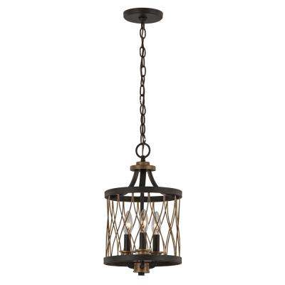 Tahoe 3-Light Rubbed Oil Bronze Pendant