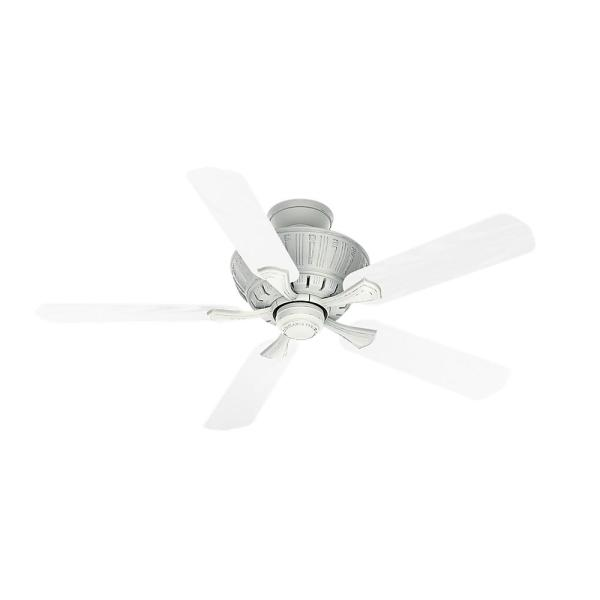 Coletti 54 in. Indoor Cottage White Ceiling Fan