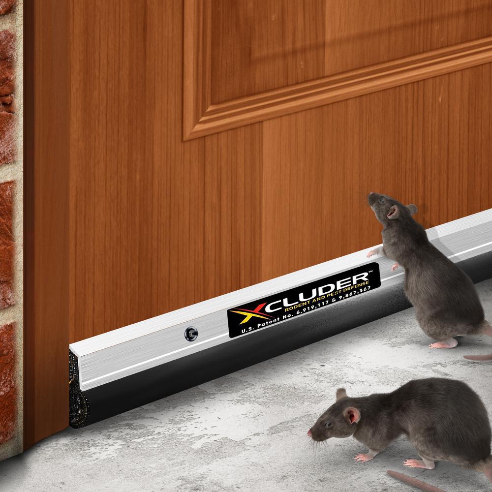 36 in. Residential Aluminum Pest Control Door Sweep