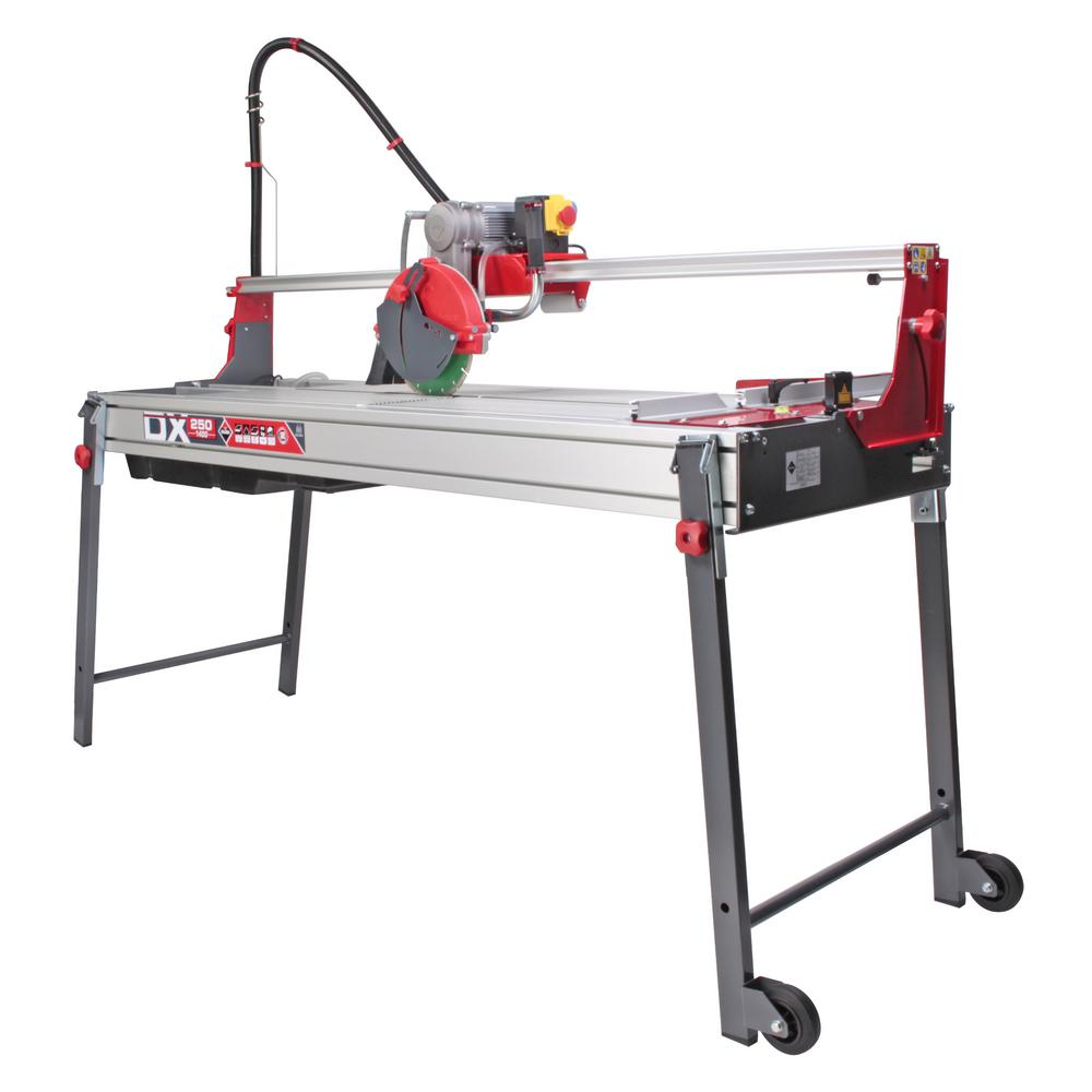 Rubi 10 In 120 Volt Tile Saw Dx 59 In 52951 The Home Depot