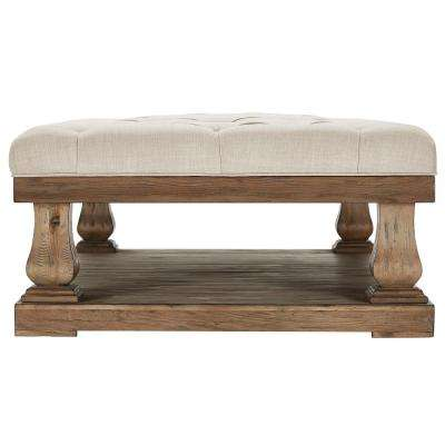 Segovia Oatmeal Pillowtop Coffee Table