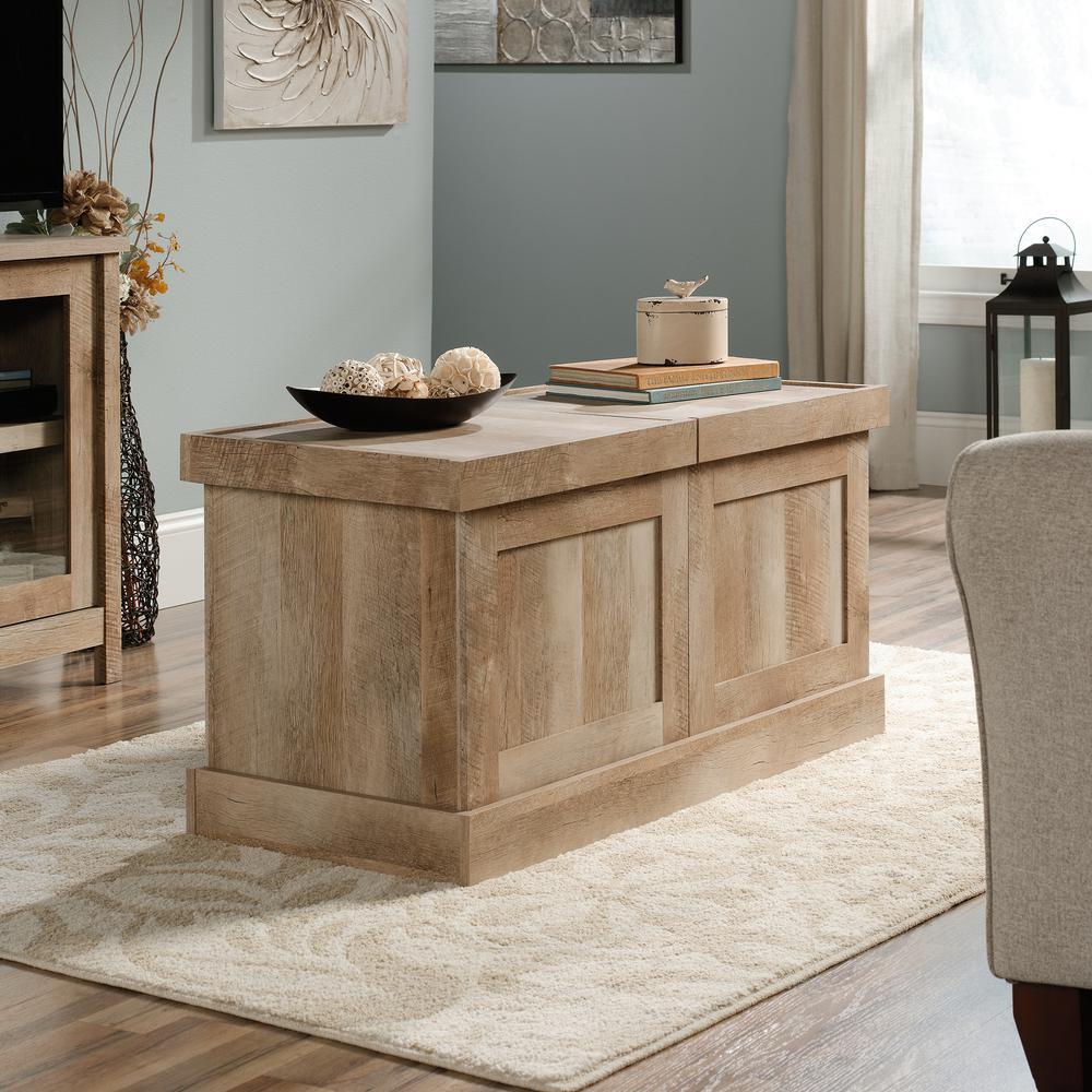 Cannery Bridge Lintel Oak Extendable Coffee Table