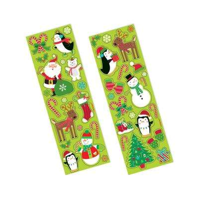 Fun Christmas Stickers (156-Count 11-Pack)
