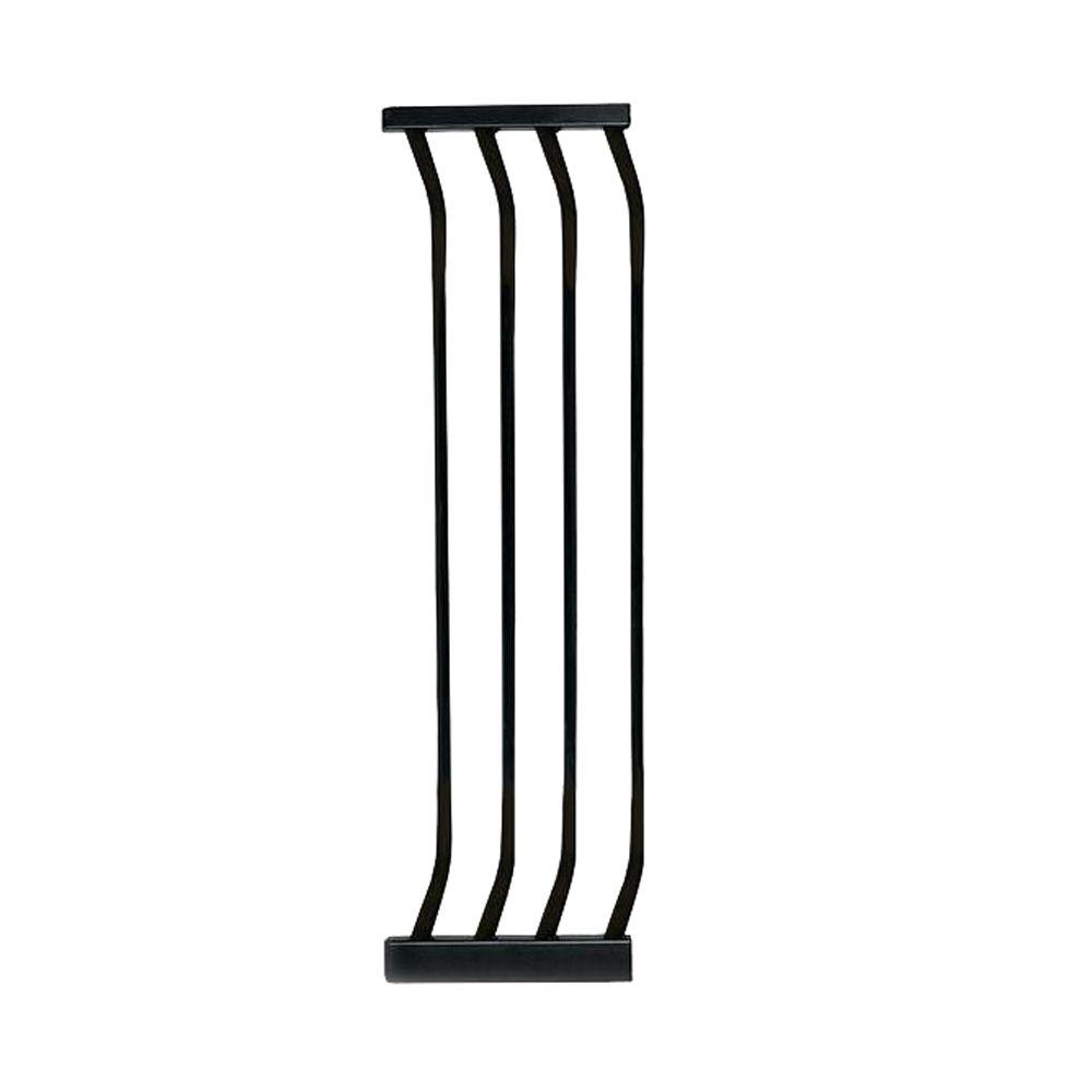10.5 in. Gate Extension for Black Chelsea Standard Height Child Safety