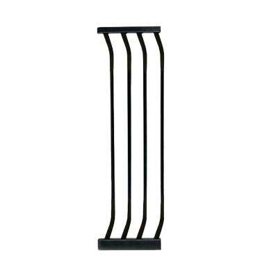 10.5 in. Gate Extension for Black Chelsea Standard Height Child Safety Gate