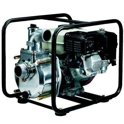 2 in. 3.5 HP Semi-Trash Pump with Engine