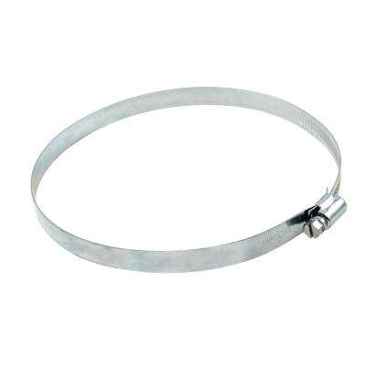 6 in. Galvanized Steel Worm Gear Clamp
