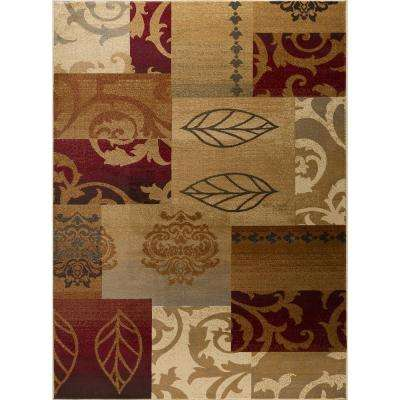 Impressions Multi 8 ft. x 10 ft. Transitional Area Rug