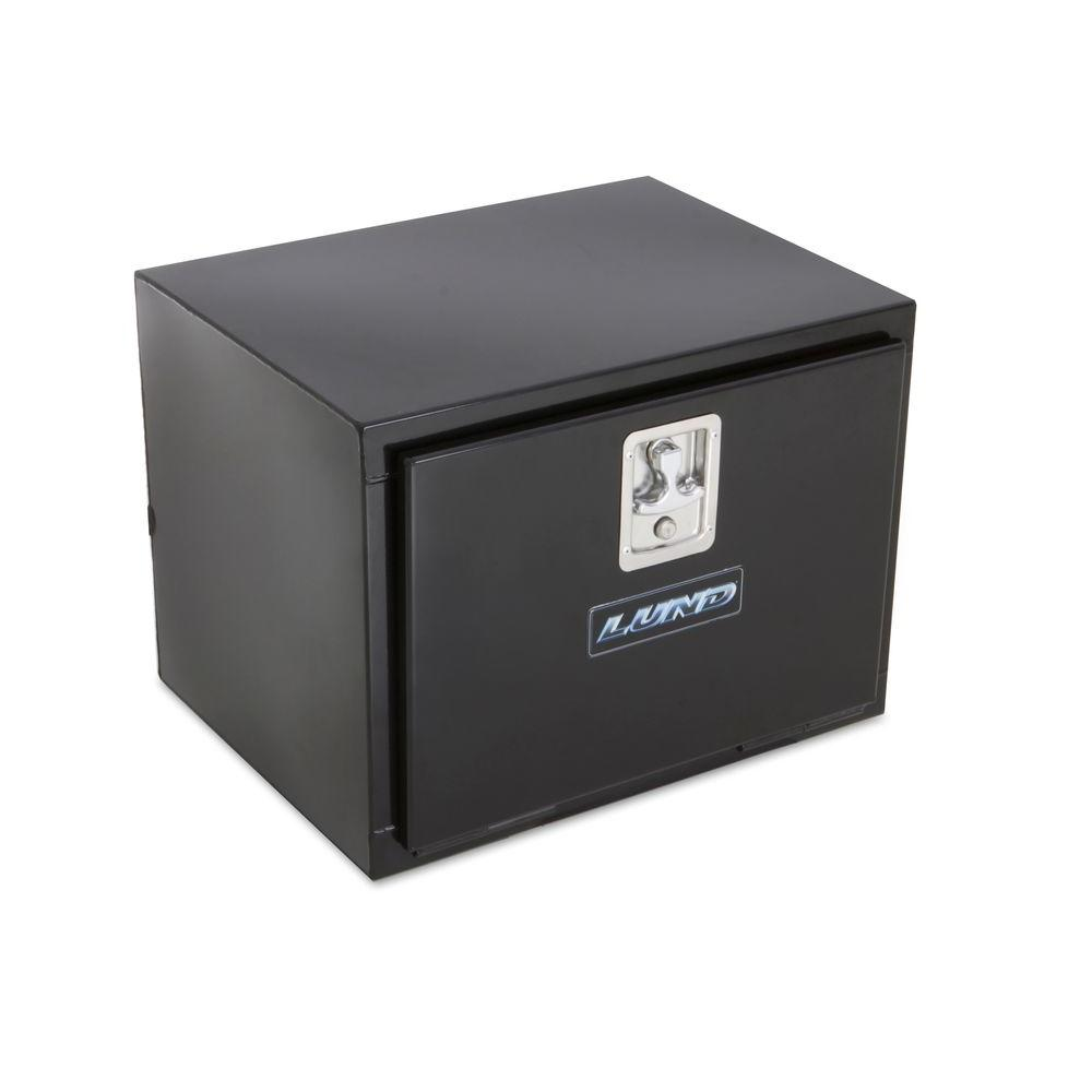 Tradesman 24 in. Steel Black Underbody Truck Tool Box
