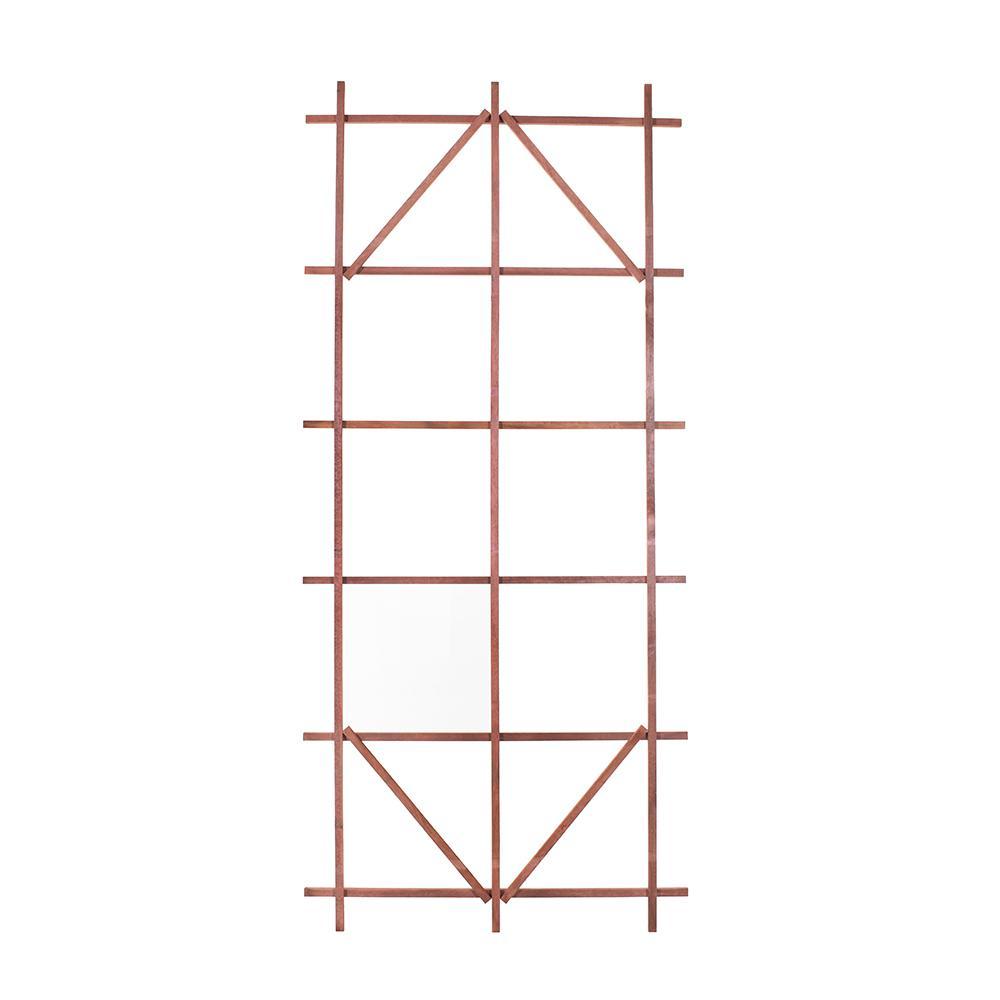 80 in. Wood Ladder Trellis