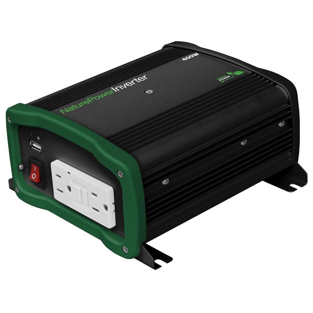 Nature Power 400-Watt Pure Sine Wave Inverter Deals