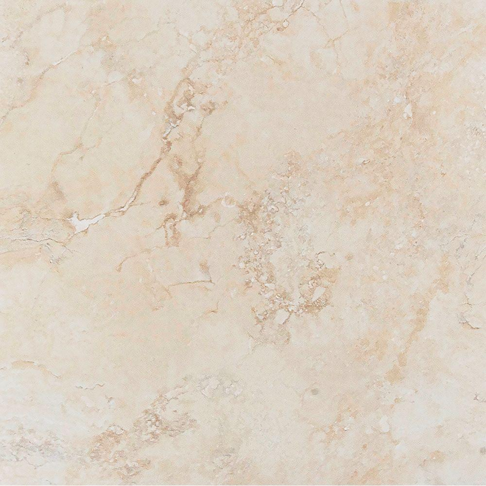 Megatrade Roccia Marfil 20 In X Beige Porcelain Floor And Wall Tile