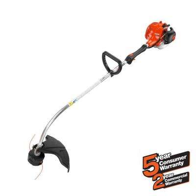 21.2cc Gas 2-Stroke Cycle Curved Shaft Trimmer with Speed-Feed Head