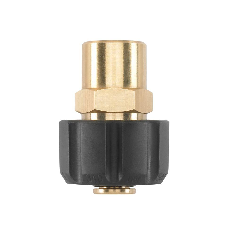 Pressure Washer Coupler Adapter For Power Washer Spray Gun Wand M22 to 1//4/'/'
