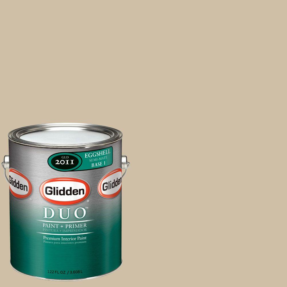 Glidden DUO Martha Stewart Living 1-gal. #MSL202-01F Hickory Eggshell Interior Paint with Primer-DISCONTINUED